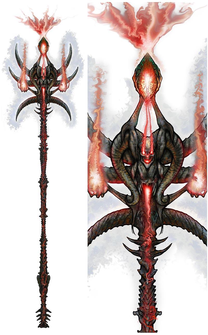 Necromancer Staff