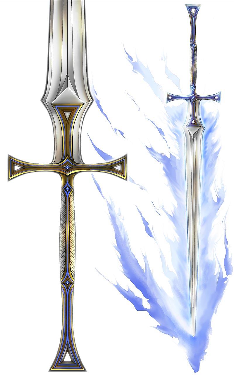 Epic Paladin Sword