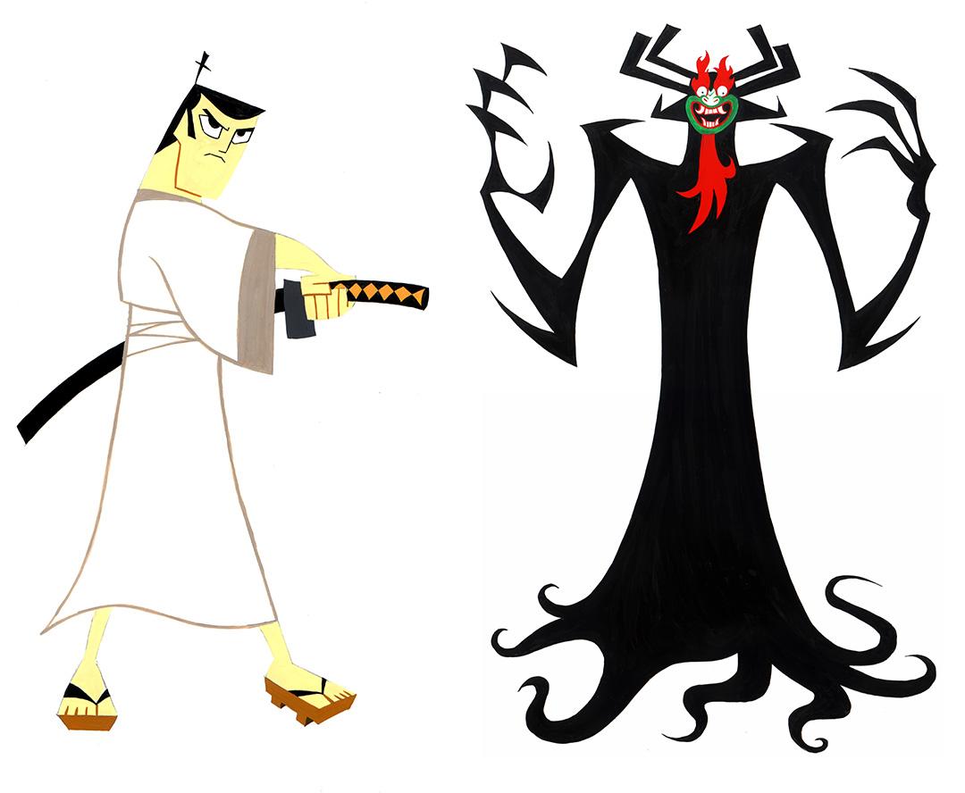 Samurai Jack vs. Aku